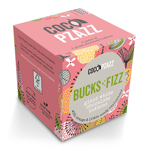 Giant Chocolate Buttons - Bucks Fizz