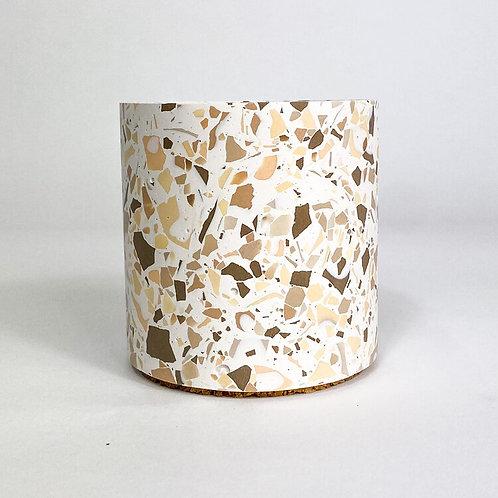 Terrazzo Pot - Nude
