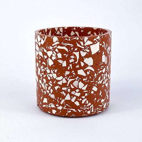 Terrazzo Pot - Terracotta