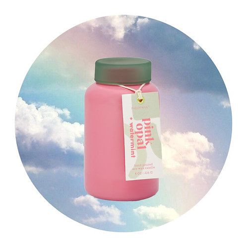 Lolli Candle - Pink Opal & Watermint