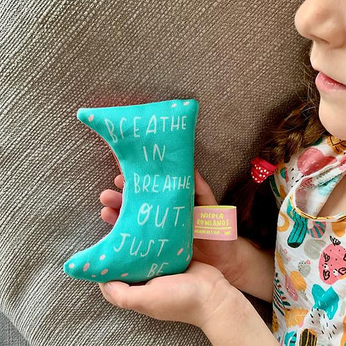 'Breathe In Breathe Out' Palm Bag