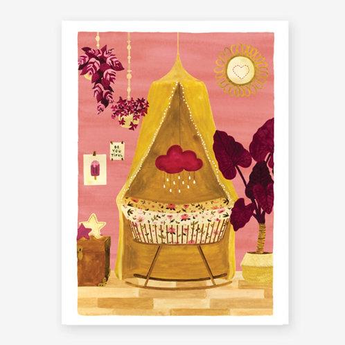'Girl Bedroom' Print