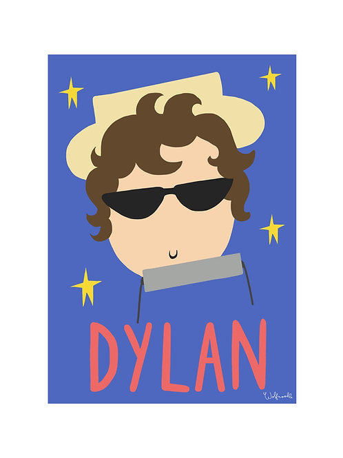Bob Dylan Print