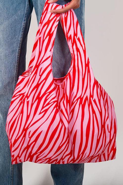 Zebra 100% Recycled Reusable Bag