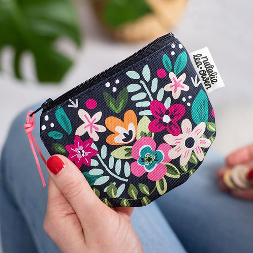 Forest floral Coin Purse