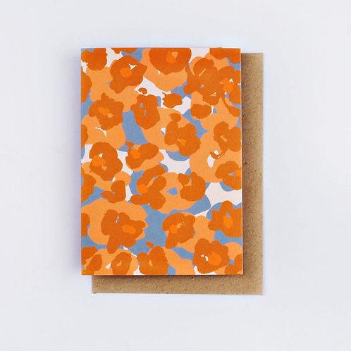 Painter Flower Card