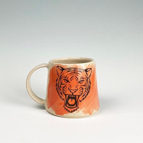 Tiger Face Big Mug