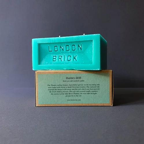 London Brick Thames Drift Candle