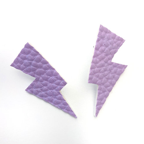 Lavender Leatherette- Disco Bolts