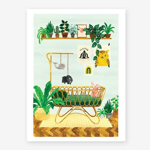 'Boy Bedroom' Print