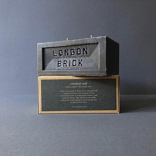 London Brick Smoked Coal Candle