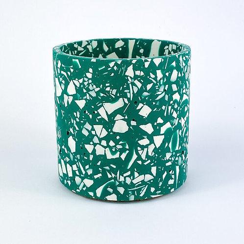 Terrazzo Pot - Emerald