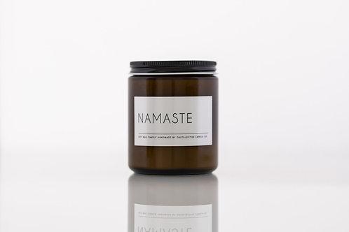 'Namaste' Candle