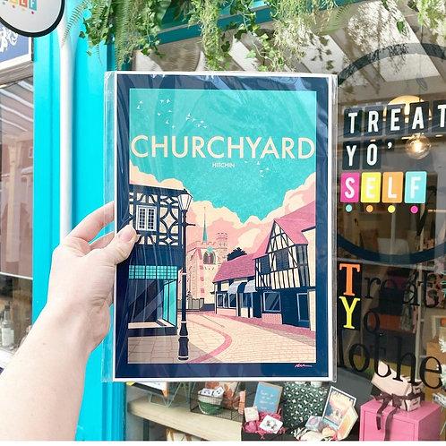 Churchyard Print