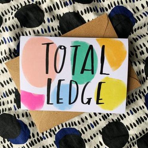 'Total Ledge' Card
