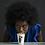 Thumbnail: Black Man/ White Woman Couple Porcelain Cup