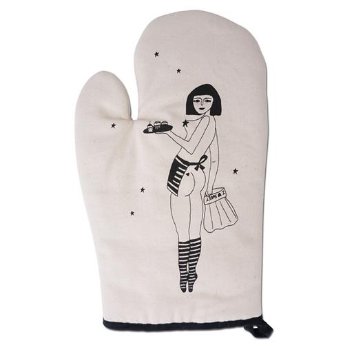 Pin-Up Cake Girl Oven Glove