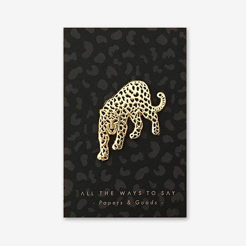 Leopard Pin Badge