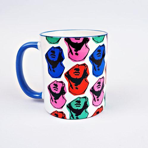 Statue Face Mug