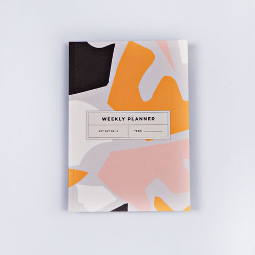 Cut Out Weekly Planner