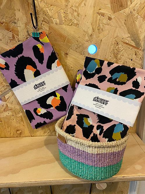 Leopard Print Tea Towels