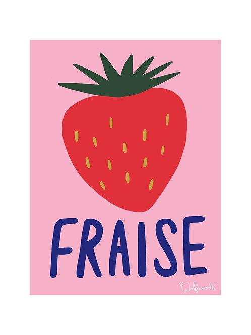 Fraise Print