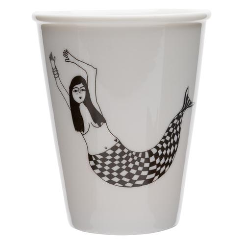 Mermaid Porcelain Cup