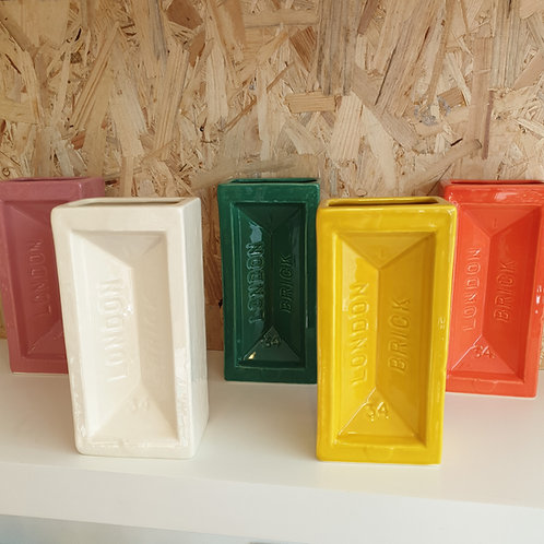 London Brick Vases