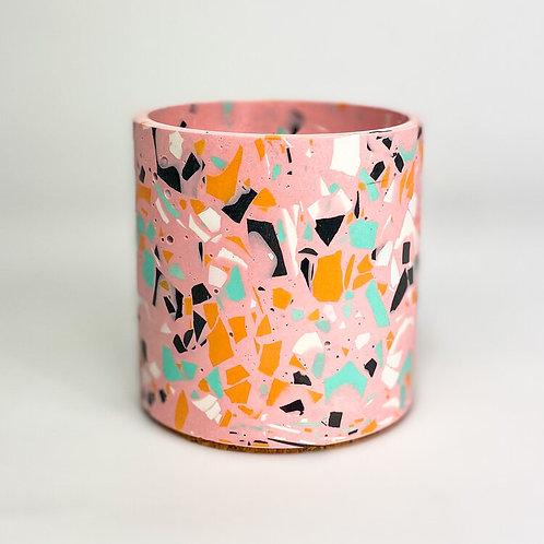 Terrazzo Pot - Sherbert Pink