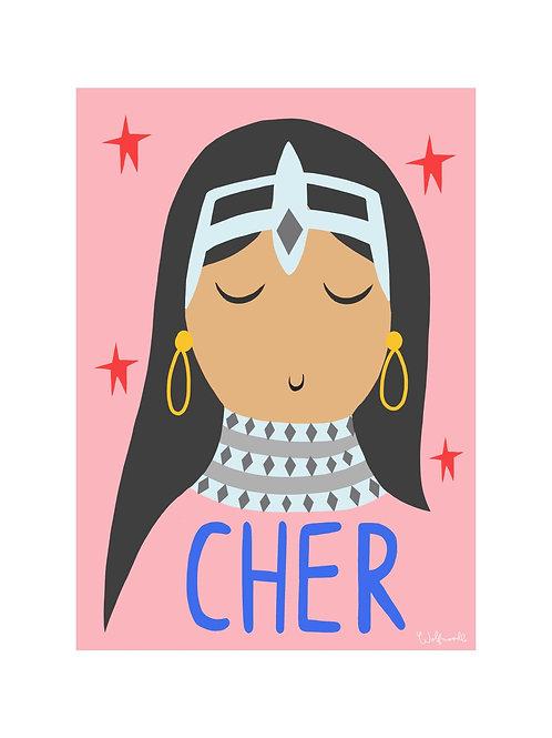 Cher Print