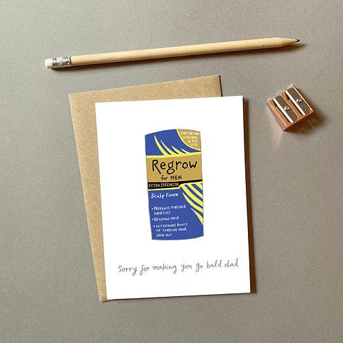 Regrow for Men Card
