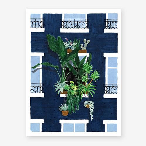 Botanical Balcony Print