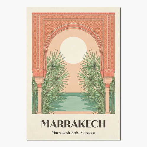 Marrakech Print