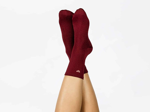 Heart Socks - Red