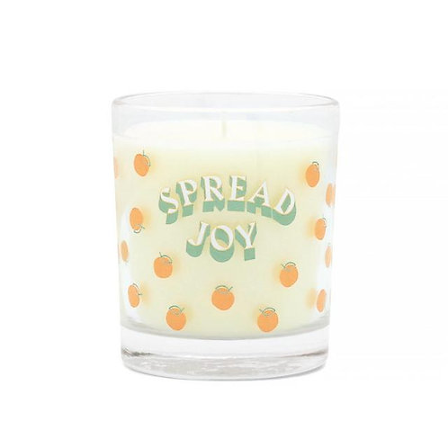 'Spread the Joy' Glass Candle