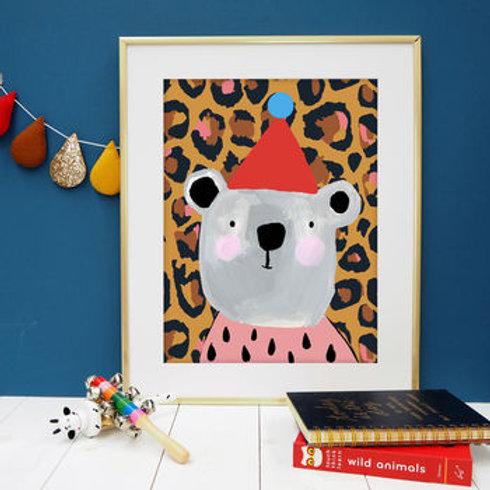 Leopard Print Bear Print