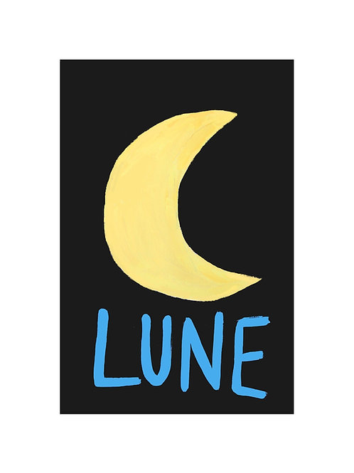 Lune Print