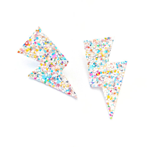 Multi Glitter Disco Bolt