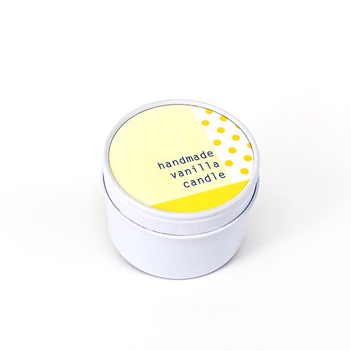 Handmade Vanilla Candle