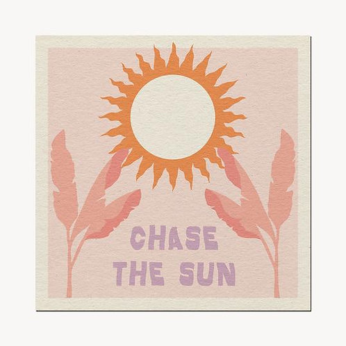 'Chase the Sun' Print