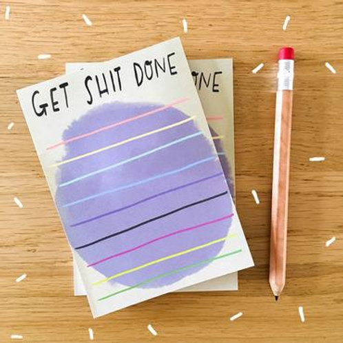 Desk Pad: Get Shit Done