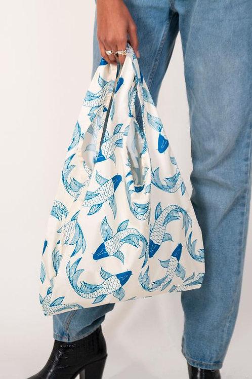 Koi Fish 100% Recycled Reusable Bag
