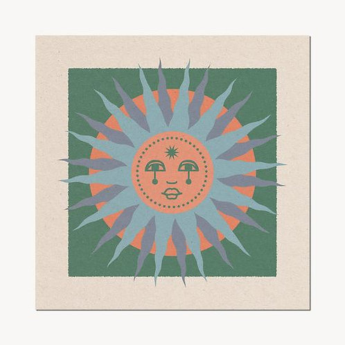 Sun Face II Print