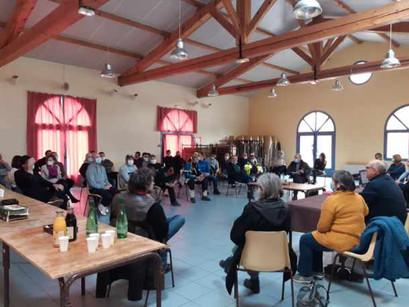 Ce 28 janvier à Cazilhac,une après-midi d'échanges avec les gardiens de déchèteries