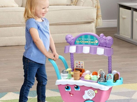 LeapFrog, Scoop and Learn Deluxe Ice Cream Cart