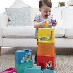 Foldable Playskool tower. The best baby toy!