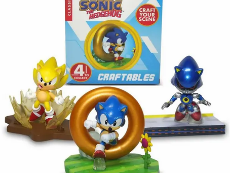 Sonic the Hedgehog Craftables, collectible toys