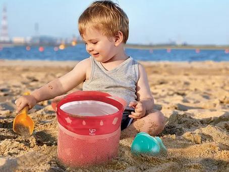 HAPE Fold and Go Beach Sand Set: Everything we love at sea!