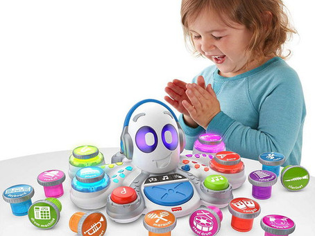 Learn how to play with the new Think and Learn Rocktopus from Fisher-Price