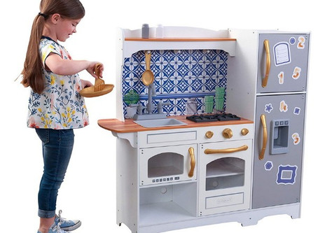 KidKraft: magnetic mosaic kitchen. Childhood dream!